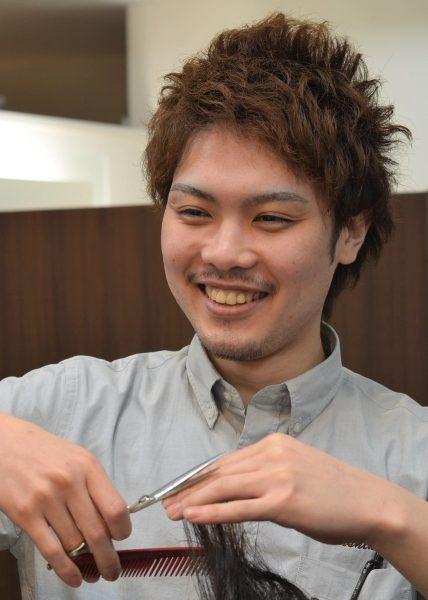 有楽町店長 益子祥史 7年目(中途採用) 栃木県出身