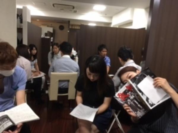 銀座の理容室での勉強会!!